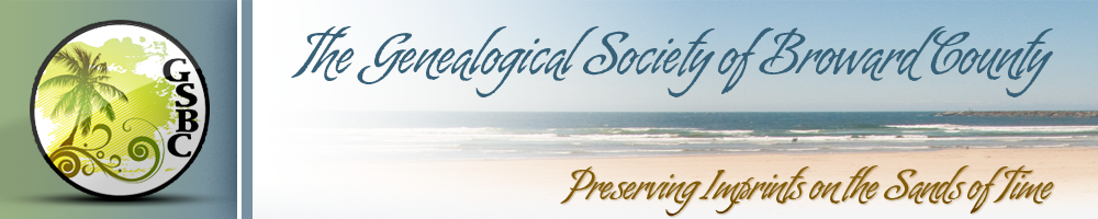Genealogical Society of Broward County